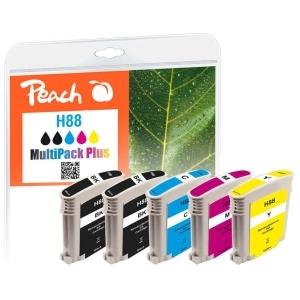 Peach  Spar Pack Tintenpatronen kompatibel zu Hersteller-ID: No. 88 Toner
