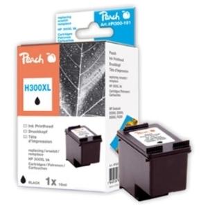 Peach  Druckkopf schwarz kompatibel zu Hersteller-ID: No. 300XL, CC641EE Tinte