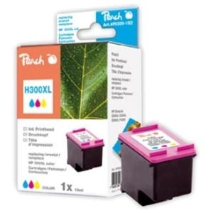 Peach  Druckkopf color kompatibel zu Hersteller-ID: No. 300XL, CC644EE Druckerpatronen