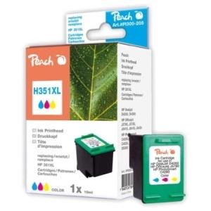 Peach  Druckkopf color kompatibel zu Hersteller-ID: No. 351XL, CB338EE Tinte
