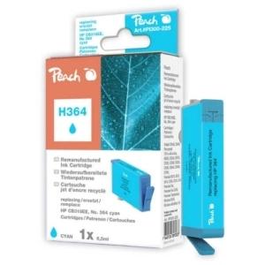 Peach  Tintenpatrone cyan kompatibel zu Hersteller-ID: No. 364, CB318EE Tinte