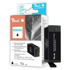 Peach  Tintenpatrone schwarz kompatibel zu Hersteller-ID: No. 364XL, CN684EE Druckerpatronen