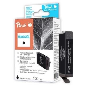 Peach  Tintenpatrone foto schwarz kompatibel zu Hersteller-ID: No. 364XL, CB322EE Toner