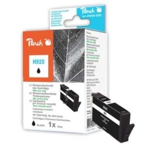 Peach  Tintenpatrone schwarz kompatibel zu Hersteller-ID: No. 920, CD971AE Tinte