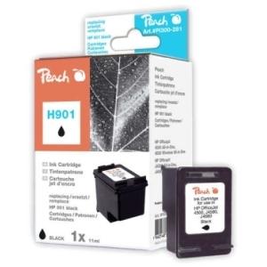 Peach  Druckkopf schwarz kompatibel zu Hersteller-ID: No. 901, CC653AE Toner