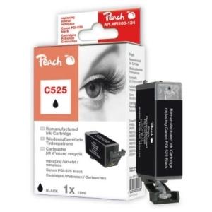 Peach  Tintenpatrone schwarz kompatibel zu Hersteller-ID: PGI-525 Druckerpatronen