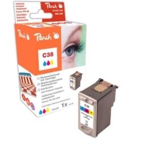 Peach  Druckkopf color kompatibel zu Hersteller-ID: CL-38 Druckerpatronen