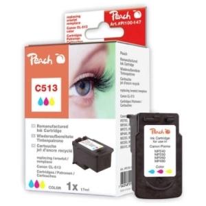 Peach  Druckkopf color kompatibel zu Hersteller-ID: CL-513 Tinte