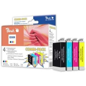 Peach  Spar Pack Tintenpatronen kompatibel zu Hersteller-ID: T0895 Druckerpatronen