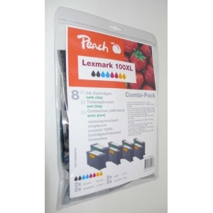 Peach  Spar Pack Tintenpatronen kompatibel zu Hersteller-ID: Nr. 100XL Druckerpatronen