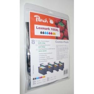 Peach  Spar Pack Tintenpatronen kompatibel zu Hersteller-ID: Nr. 100XL Toner