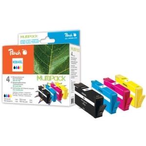 Peach  Spar Pack Tintenpatronen kompatibel zu Hersteller-ID: No. 364XL Druckerpatronen