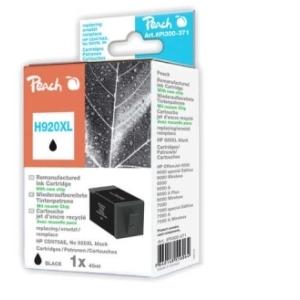 Peach  Tintenpatrone schwarz HC kompatibel zu Hersteller-ID: No. 920XL, CD975AE Toner