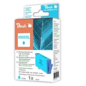 Peach  Tintenpatrone cyan HC kompatibel zu Hersteller-ID: No. 920XL, CD972AE Tinte