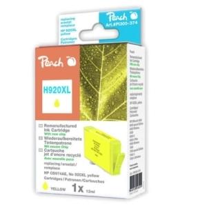 Peach  Tintenpatrone gelb HC kompatibel zu Hersteller-ID: No. 920XL, CD974AE Toner