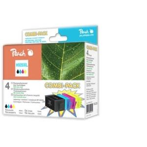 Peach  Spar Pack Tintenpatronen kompatibel zu Hersteller-ID: No. 920XL Druckerpatronen