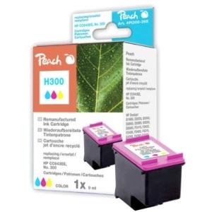 Peach  Druckkopf color kompatibel zu Hersteller-ID: No. 300, CC643EE Druckerpatronen
