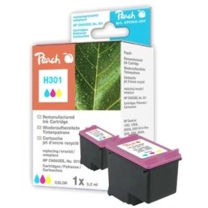 Peach  Druckkopf color kompatibel zu Hersteller-ID: No. 301, CH562EE Tinte