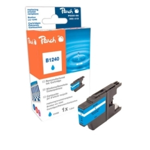 Peach  Tintenpatrone cyan kompatibel zu Hersteller-ID: LC-1240 c Tinte