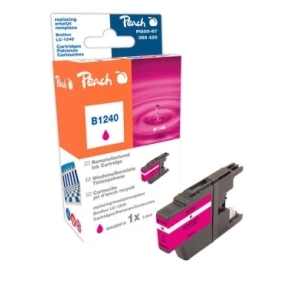Peach  Tintenpatrone magenta kompatibel zu Hersteller-ID: LC-1240 m Tinte