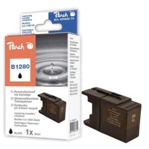 Peach  XL-Tintenpatrone schwarz kompatibel zu Hersteller-ID: LC-1280, LC-1280 bk Toner