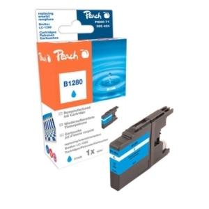 Peach  XL-Tintenpatrone cyan kompatibel zu Hersteller-ID: LC-1280 c Tinte