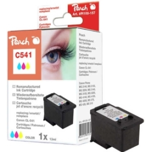 Peach  Druckkopf color kompatibel zu Hersteller-ID: CL-541 Tinte