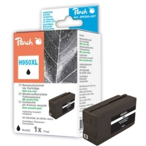 Peach  Tintenpatrone schwarz HC kompatibel zu Hersteller-ID: No. 950XL, CN045AE Tinte