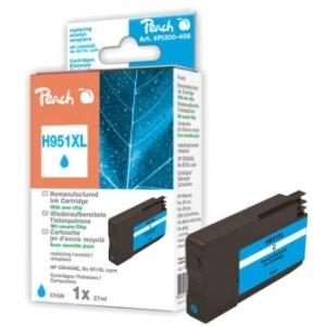 Peach  Tintenpatrone cyan HC kompatibel zu Hersteller-ID: No. 951XL, CN046AE Druckerpatronen