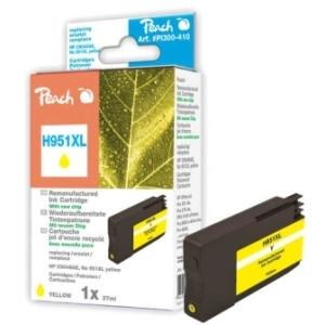 Peach  Tintenpatrone gelb HC kompatibel zu Hersteller-ID: No. 951XL, CN048AE Toner
