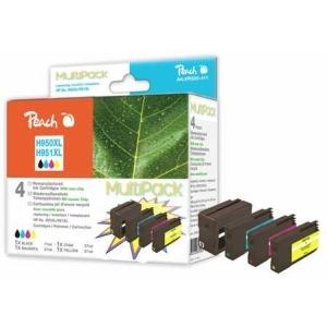 Peach  Spar Pack Tintenpatronen kompatibel zu Hersteller-ID: No. 950XL, No. 951XL Druckerpatronen