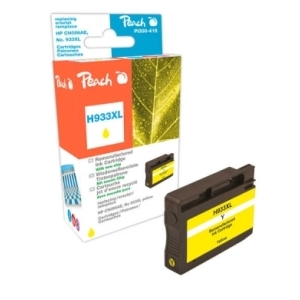 Peach  Tintenpatrone gelb HC kompatibel zu Hersteller-ID: No. 933XL, CN056AE Tinte