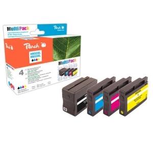 Peach  Spar Pack Tintenpatronen kompatibel zu Hersteller-ID: No. 932XL, No. 933XL Toner