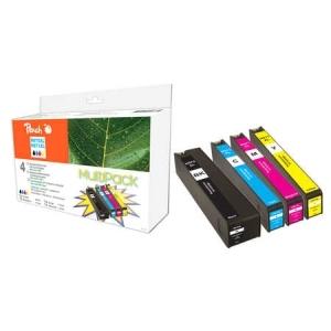 Peach  Spar Pack Tintenpatronen kompatibel zu Hersteller-ID: No. 970XL, No. 971XL Druckerpatronen