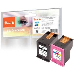 Peach  Spar Pack Druckköpfe kompatibel zu Hersteller-ID: No. 650 Series Tinte