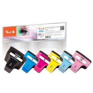 Peach  Spar Pack Tintenpatronen kompatibel zu Hersteller-ID: No. 363 Druckerpatronen
