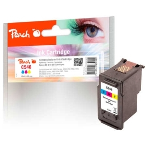 Peach  Druckkopf color kompatibel zu Hersteller-ID: CL-546 Tinte