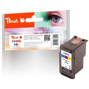 Peach  Druckkopf XL color kompatibel zu Hersteller-ID: CL-546XL Tinte