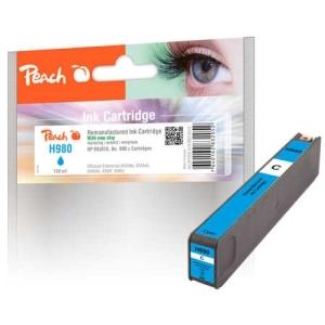 Peach  Tintenpatrone cyan kompatibel zu Hersteller-ID: No. 980, D8J07A Druckerpatronen