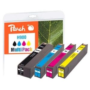 Peach  Spar Pack Tintenpatronen kompatibel zu Hersteller-ID: No. 980 Druckerpatronen