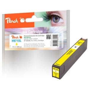 Peach  Tintenpatrone gelb HC kompatibel zu Hersteller-ID: No. 971XL, CN628AE Toner