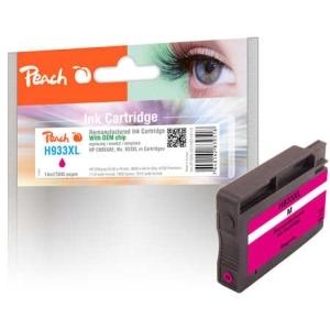 Peach  Tintenpatrone magenta HC kompatibel zu Hersteller-ID: No. 933XL, CN055AE Tinte