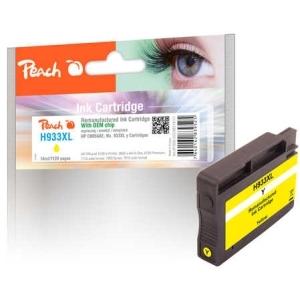 Peach  Tintenpatrone gelb HC kompatibel zu Hersteller-ID: No. 933XL, CN056AE Druckerpatronen