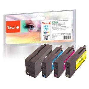 Peach  Spar Pack Tintenpatronen kompatibel zu Hersteller-ID: No. 950, No. 951 Druckerpatronen