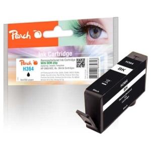 Peach  Tintenpatrone schwarz kompatibel zu Hersteller-ID: No. 364, CB316EE Toner