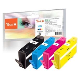 Peach  Spar Pack Tintenpatronen kompatibel zu Hersteller-ID: No. 364 Toner