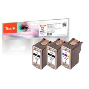 Peach  Spar Pack Plus Druckköpfe kompatibel zu Hersteller-ID: PG-40, CL-41 Druckerpatronen