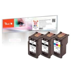 Peach  Spar Pack Plus Druckköpfe kompatibel zu Hersteller-ID: PG-510, CL-511 Druckerpatronen