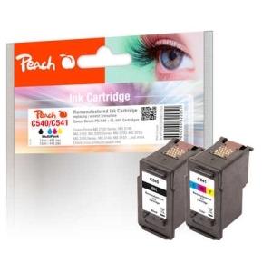 Peach  Spar Pack Tintenpatronen kompatibel zu Hersteller-ID: PG-540, CL-541 Toner
