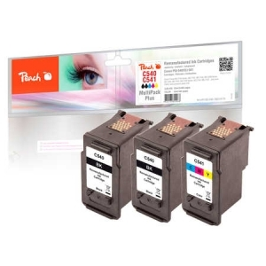 Peach  Spar Pack Plus Druckköpfe kompatibel zu Hersteller-ID: PG-540, CL-541 Toner